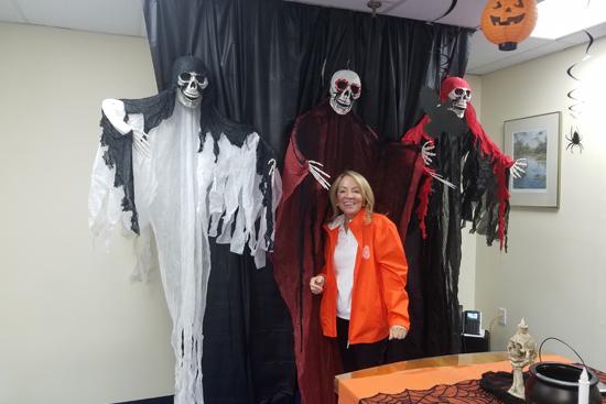 Halloween Kimre President